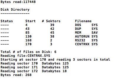 """""""rfile"""" liest eine Datei und ermittelt dabei die exakte Dateigröße."""
